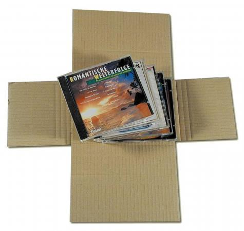 CD-Verpackung 187 x 128 mm